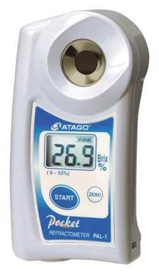 Atago 3810 Pal-1 Refractometer- Digital Atc Water Resist
